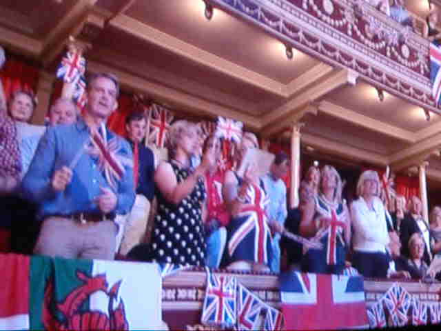 Last Night at the Proms: Jerusalem on 11th Sept. 2011