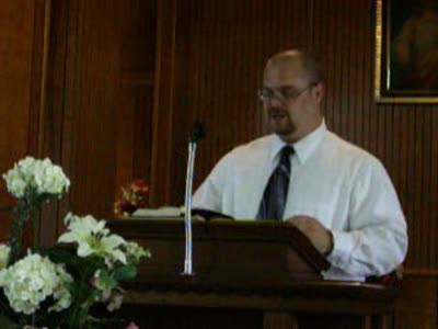 Clark preaching