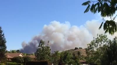 Video San Marcos Fire
