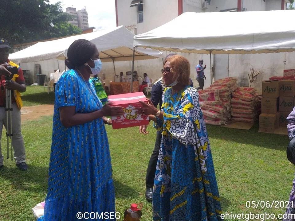Après le retour de Gbagbo, Madame Simone Gbagbo fête son anniversaire