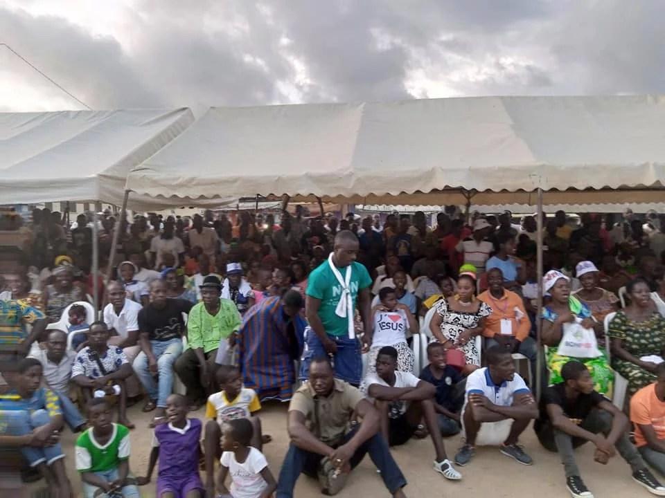 Mobilisation Pour le Retour de Laurent Gbagbo à Bonoua
