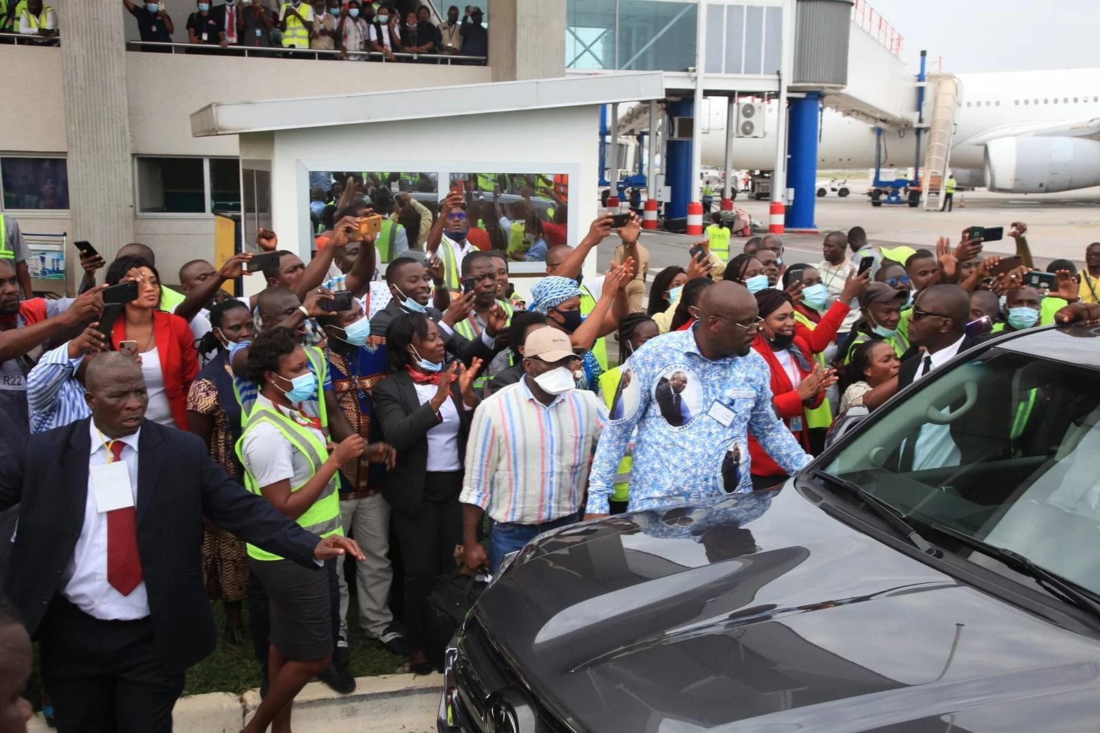 Retour de Laurent Gbagbo: Suivez ce Reportage du retour du Président Gbagbo