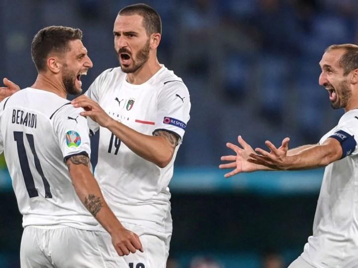 Euro-2021: Turquie vs Italie, 3-0 pour L'Italie