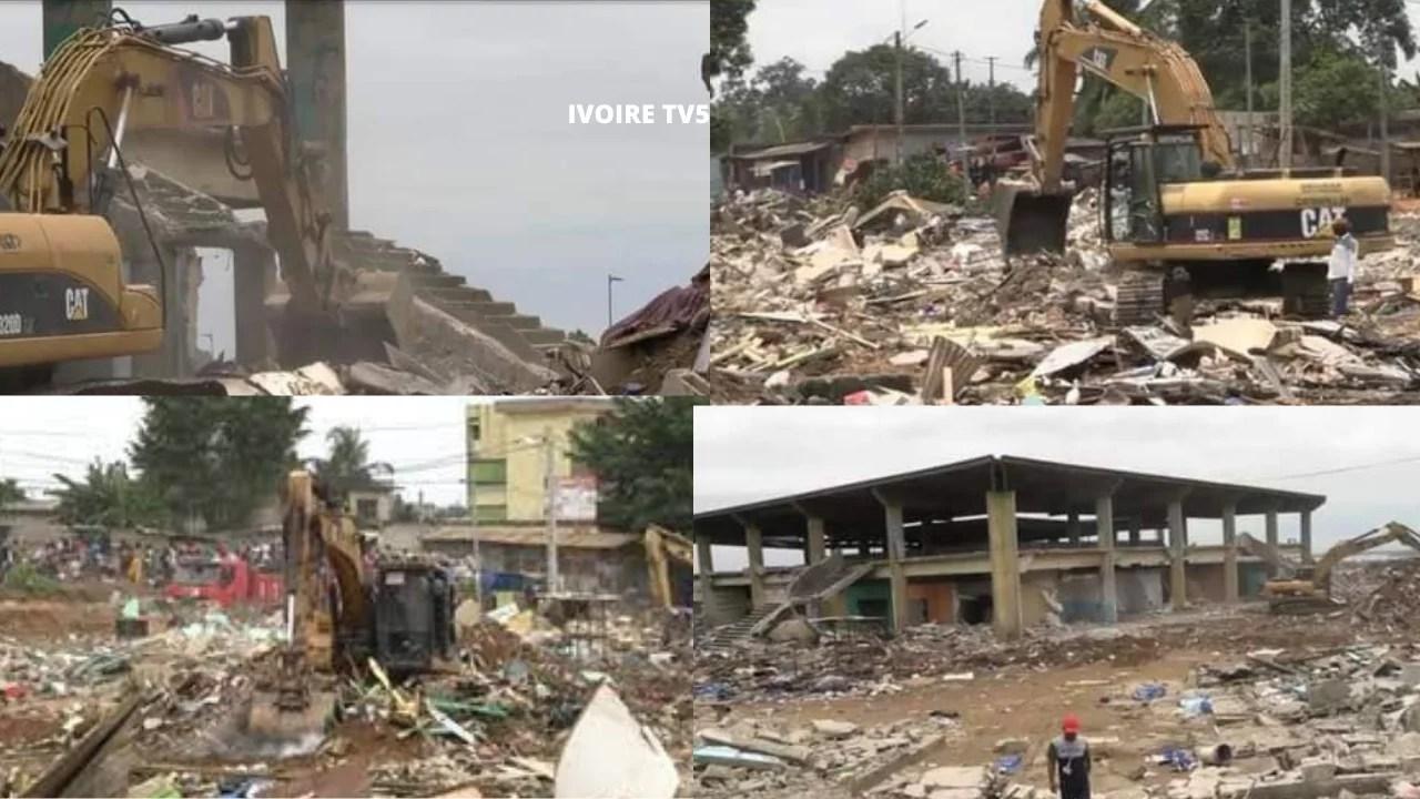 Cote D'ivoire: Démolition du marché de Bingerville, Les commerçants Encolère et dénoncent un abus de Pouvoir