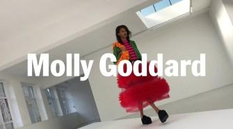 Molly Goddard SS21 Runway Show