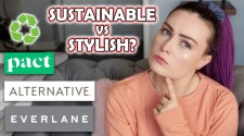 Trying Sustainable Clothing Brands (Try-On Haul/Review)