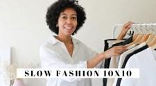 SLOW FASHION 10X10 | 10 Items, 10 Outfits, Sustainable Fashion Capsule Wardrobe | Jessica Harumi