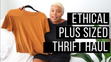 Ethical Fashion + Plus Sized Thrift Haul |  Universal Standard, Tradlands, And Goodwill