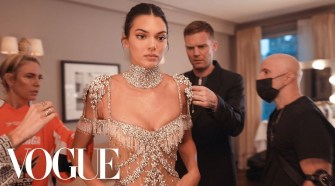 Kendall Jenner Gets Ready For The Met Gala   Vogue