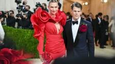Karlie Kloss And Wes Gordon Attend The 2021 Met Gala | Carolina Herrera New York