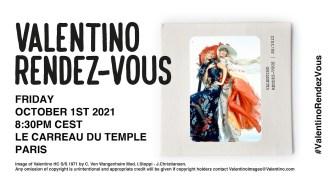 Valentino Rendez-Vous Show