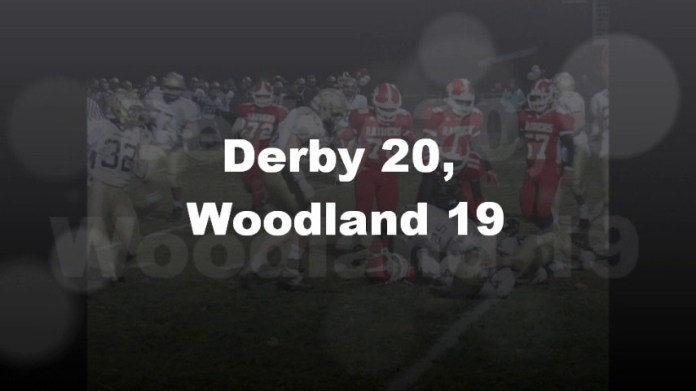 Derby nips Woodland, 20-19