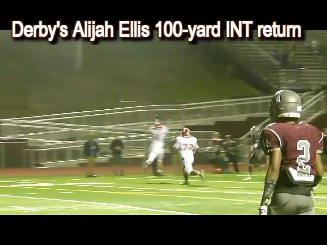 Derby's 100-yard INT return (2)