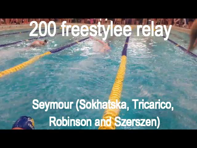 NVL swimming: 200 freestyle relay