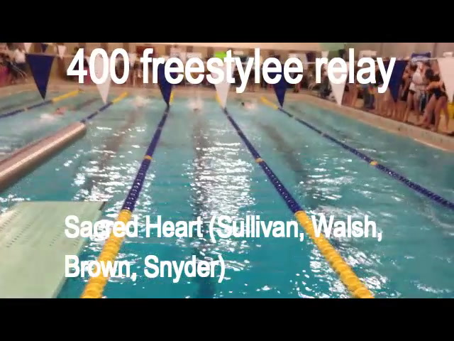 NVL swimming: 400 freestyle relay