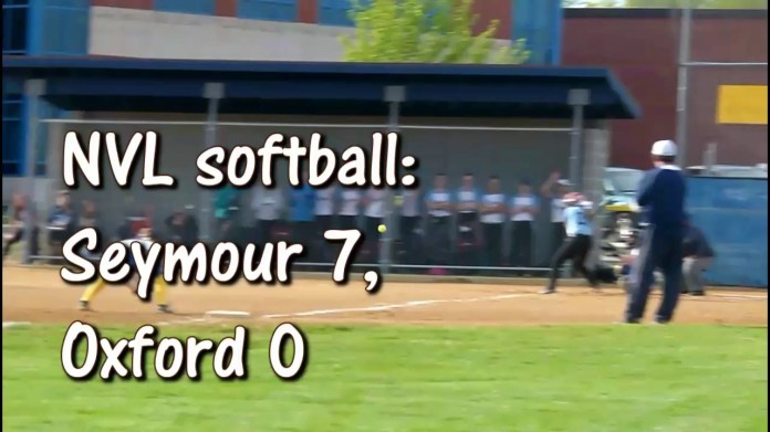 NVL softball: Seymour blanks Oxford