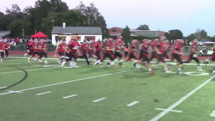 SCC football: Cheshire rolls over Sheehan (the scene)