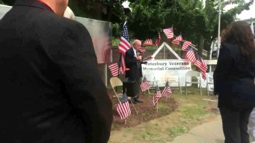 After more than 50 years of being in storage and then missing, Waterbury's World War I Monument is replaced and rededicated