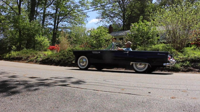 Bob D'Amato of Harwinton, Conn. owns a 1955 Ford Thunderbird. It's the second one that he's owned. A comfortable driver, the T-Bird has many interesting features.