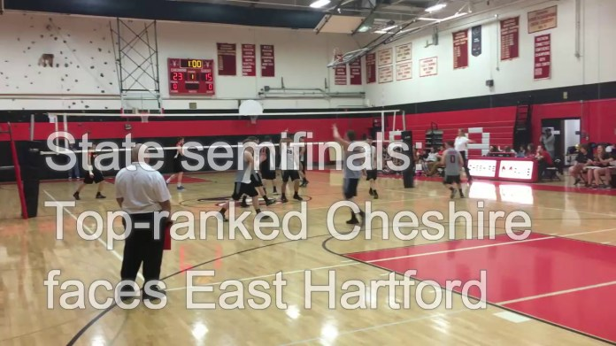 Volleyball semifinals: Top-ranked Cheshire ready