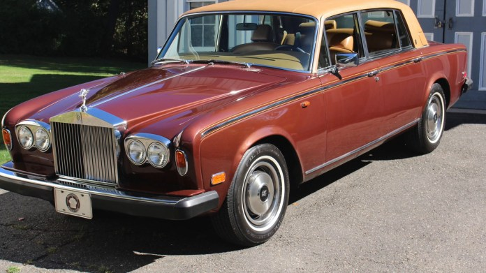 Dennis David of Thomaston, Conn. owns a rare 1979 Rolls-Royce Silver Wraith II, one of 2,135 built between 1977 and 1980. It has 206,000 miles in the odometer and he drives it regularly.