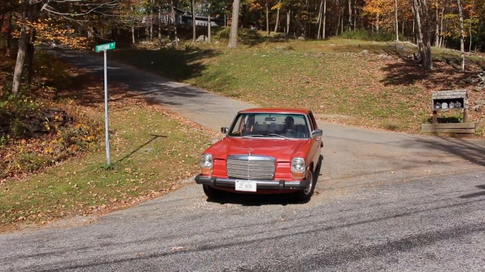 Christopher Serafine of Warren, Conn. owns an unrestored 1974 Mercedes-Benz 240D that has a pedigree. He bought the car three years ago for only $200 when he was 18. It had been sitting and he put it back on the road.