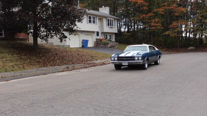Danny Archambault of Waterbury, Conn. owns a 1970 Chevrolet Chevelle SS that reminds him of his youth because his first car was also a 1970 Chevrolet Chevelle SS. He found his current Chevelle SS in Maine four years ago and now drives it roughly 2,000-2,500 miles per year.