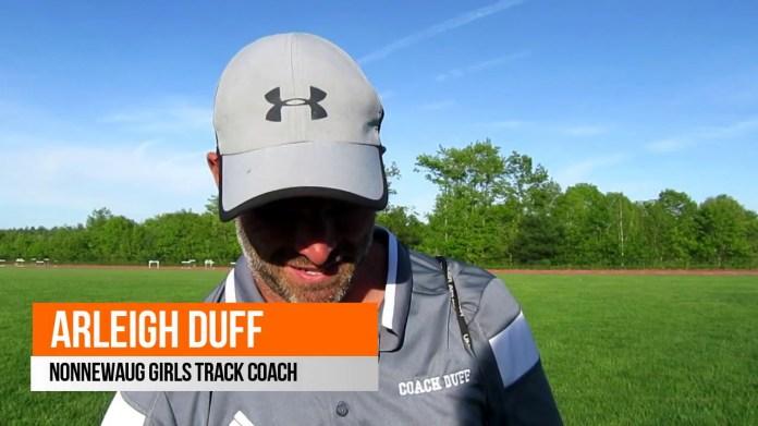 BL track championships: Nonnewaug coach Arleigh Duff