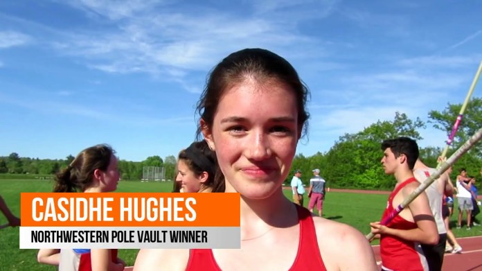 BL track championships: Northwestern's Hughes wins pole vault