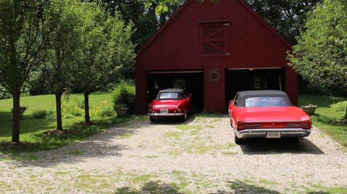 Gary Harlan Ross of Falls Village, CT is a car collector with an affinity for Alfa Romeo models. He's owned a half-dozen over the years. He was 18 when he bought his first one. He currently owns a 1964 Giulia two-seater convertible.