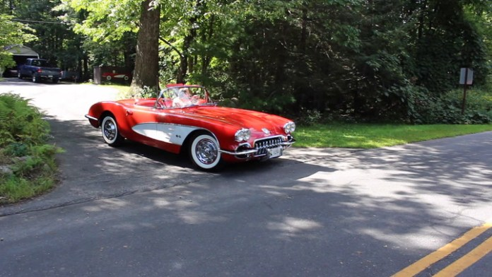 Tony Durso of Thomaston, Conn. has owned a 1960 Chevrolet Corvette in stunning Roman red for 30 years. He drives it about 1,000 each year and says it looks like it's moving even when it's parked. Learn more about it and see it in action in My Ride.