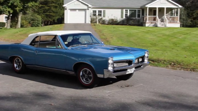 Frank Rinaldi of Watertown, Conn. owns a 1967 Pontiac GTO that took nearly two decades to restore. He bought the frame and body for $1,400 in 1999 and finally got it back on the road in 2017. It looks like it just came from a showroom.