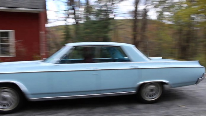 Marty Titus of New Milford, Conn. owns a 1964 Oldsmobile Super 88. It's a four-door hardtop in sky blue that he bought eight years ago. He shares it in My Ride...