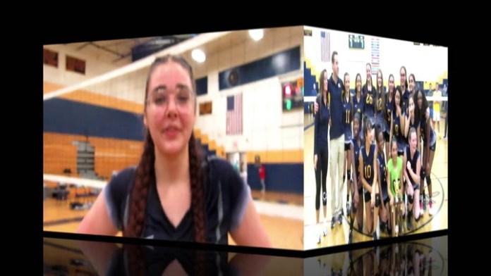NVL volleyball tourney MVP Hannah West