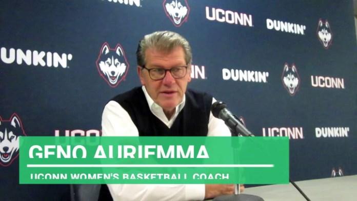 UConn coach Auriemma: On Molly Bent's role