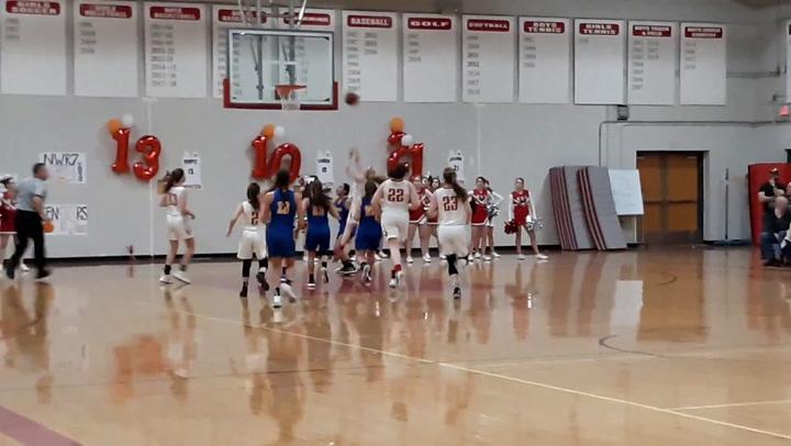 Northwestern's Emma Propfe in action
