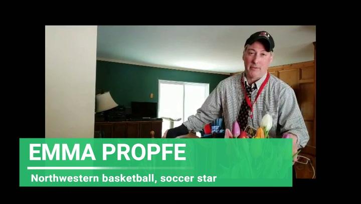 Northwestern's Emma Propfe