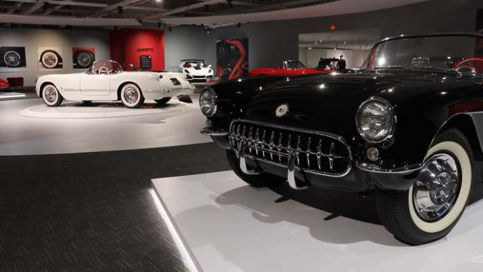A tour of the 70-car Newport Car Museum in Portsmouth, R.I.