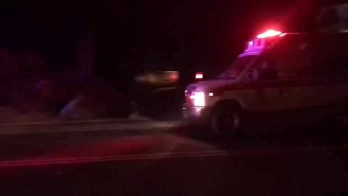 Accident on Thomaston Avenue in Waterbury on Tuesdays night.