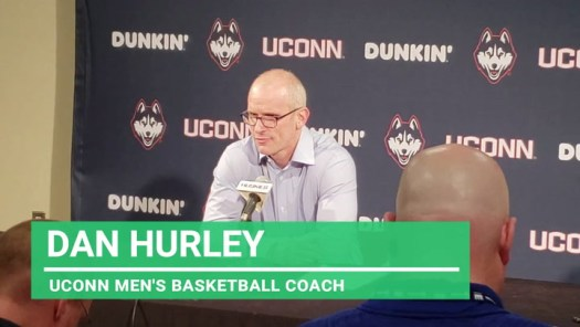 UConn coach Hurley after tight loss to Houston