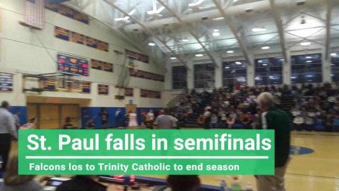 Girls semifinals: St. Paul falls to Trinity Catholic