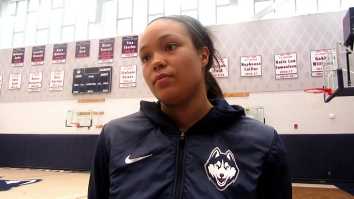 UConn's Napheesa Collier on being a No. 2 seed