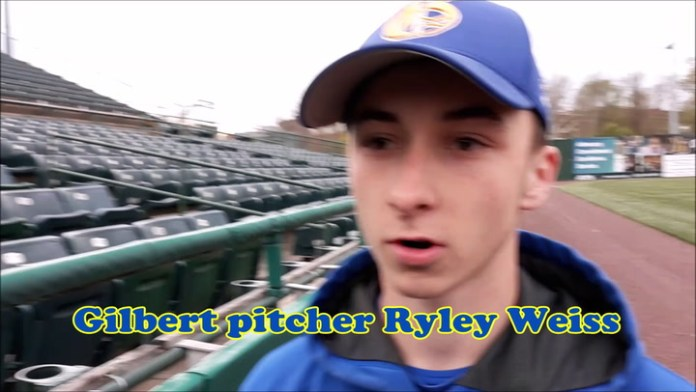 Ryley Weiss: Best pitcher in the BL