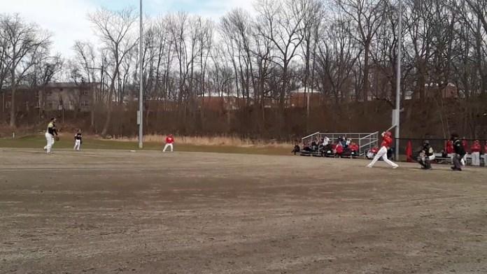 WCA baseball action