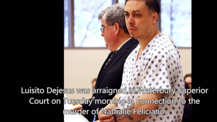 Luisito Dejesus was arraigned on Tuesday in Waterbury Superior Court. Family and supporters of Nathalie Feliciano, the woman he allegedly murdered, detailed the pain of losing her.