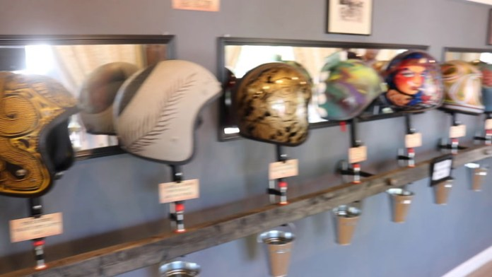 The third annual Upcycle Motorcycle Helmet Art Show showed off repurposed vintage motorcycle helmets. Bud Wilkinson's RIDE-CT motorcycle columnn has the details and a video this Saturday.