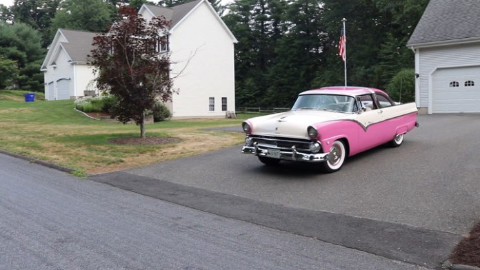 "Augie Vagnini Jr. of Middlebury, Conn. owned a 1955 Ford Crown Victoria when he was in high school, and had to have another as an audlt. He found a 1955 Ford Fairlane Crown Victoria in 2008, restored it and has been driving it since 2014. He shares it in ""My Ride."""