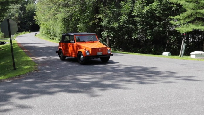 Joel Behar of Goshen, Conn. owns a 1973 Volkswagen Thing. He bought it around 2002 at the urging of his then-13-year-old daughter, Katie. It's a Thing in today's My Ride.