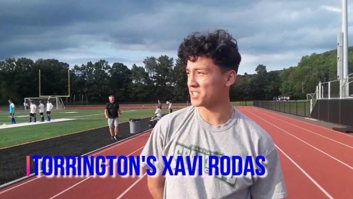 Torrington's Xavi Rodas