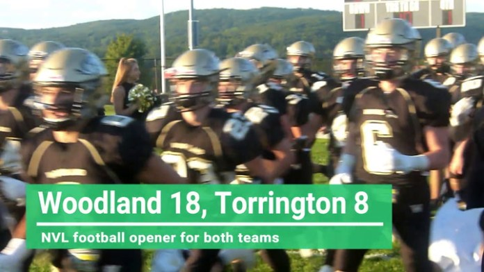 NVL football: Woodland tops Torrington
